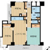 2SLDK Apartment to Rent in Shinjuku-ku Floorplan