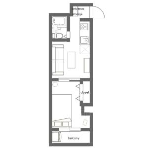 2K Mansion in Misuji - Taito-ku Floorplan
