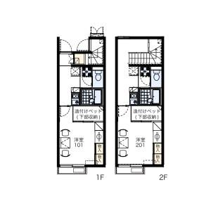 1K Apartment in Soharacho - Matsusaka-shi Floorplan
