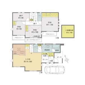 3LDK {building type} in Miyamae - Suginami-ku Floorplan