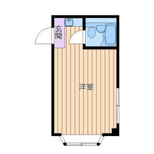 1R Mansion in Machiya - Arakawa-ku Floorplan