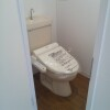 2DK Apartment to Rent in Nakano-ku Toilet