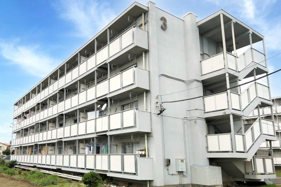 在船橋市內租賃2DK 公寓大廈 的房產 戶外