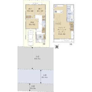 1SLDK {building type} in Narimasu - Itabashi-ku Floorplan