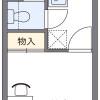 1K Apartment to Rent in Sendai-shi Aoba-ku Floorplan