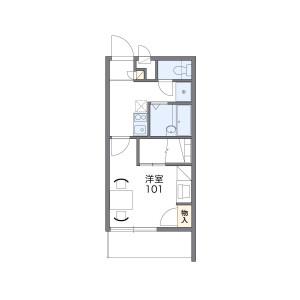 1K Mansion in Niitaka - Osaka-shi Yodogawa-ku Floorplan