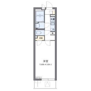 1K Mansion in Mihashi - Saitama-shi Omiya-ku Floorplan