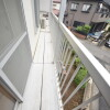 2DK Apartment to Rent in Nagareyama-shi Balcony / Veranda