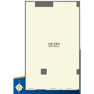 Shop {building type} in Kitakoiwa - Edogawa-ku Floorplan
