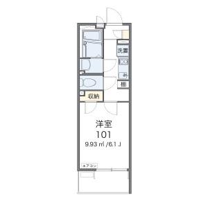 1K Apartment in Tonomachi - Kawasaki-shi Kawasaki-ku Floorplan