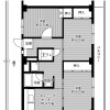 3DK Apartment to Rent in Kure-shi Floorplan