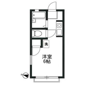 1R Apartment in Izumicho - Sakado-shi Floorplan