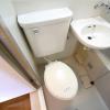 1K Apartment to Rent in Osaka-shi Fukushima-ku Toilet