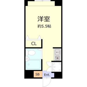 1R Mansion in Kamiikebukuro - Toshima-ku Floorplan