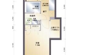 福岡市中央区 高砂 1K {building type}