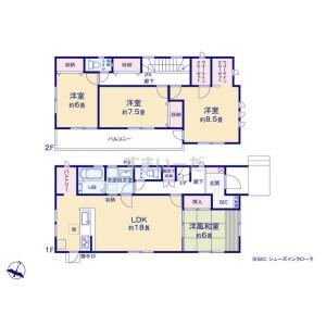 4LDK {building type} in Akagicho - Kumagaya-shi Floorplan