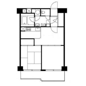 2DK Mansion in Mita - Meguro-ku Floorplan