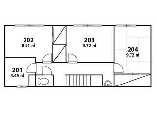 Private Guesthouse to Rent in Toshima-ku Floorplan