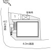1K Apartment to Rent in Toyonaka-shi Layout Drawing