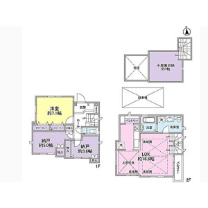 1SLDK House in Kyodo - Setagaya-ku Floorplan