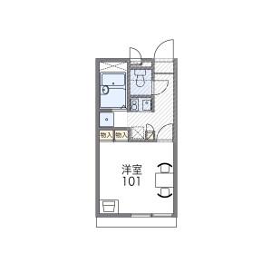 1K Mansion in Sasazuka - Shibuya-ku Floorplan