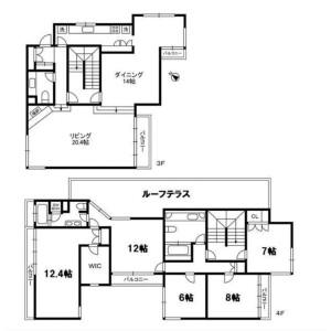 4SLDK Mansion in Akasaka - Minato-ku Floorplan
