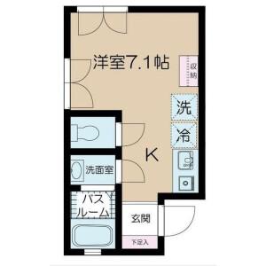 1R Apartment in Motoyoyogicho - Shibuya-ku Floorplan