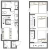 1LDK House to Rent in Toshima-ku Floorplan