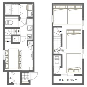 1LDK House in Ikebukurohoncho - Toshima-ku Floorplan