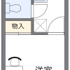 在富士見野市內租賃1K 公寓 的房產 房間格局