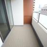 在港区内租赁1K 公寓大厦 的 阳台/走廊