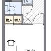 1K Apartment to Rent in Osaka-shi Asahi-ku Floorplan