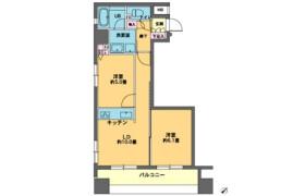 2LDK Mansion in Nihombashitomizawacho - Chuo-ku