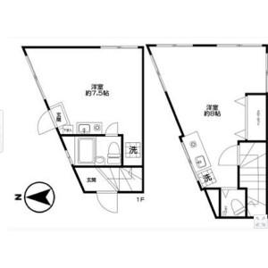 2K {building type} in Sasazuka - Shibuya-ku Floorplan