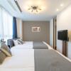 1LDK Serviced Apartment to Rent in Osaka-shi Fukushima-ku Bedroom