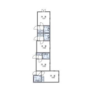 1K Apartment in Oi - Shinagawa-ku Floorplan