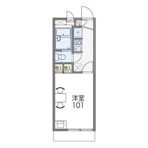 1K Apartment in Ikeda asahimachi - Neyagawa-shi Floorplan