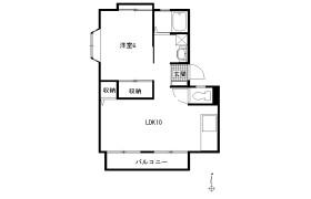 1LDK Apartment in Shibokuhoncho - Kawasaki-shi Miyamae-ku