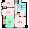3LDK 맨션 to Rent in Yokohama-shi Naka-ku Floorplan