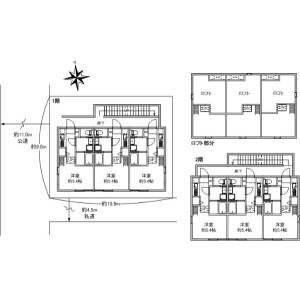 Whole Building {building type} in Oyata - Adachi-ku Floorplan
