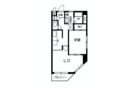 1LDK {building type} in Horinochi - Suginami-ku