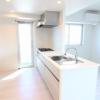 在港區內租賃4LDK 公寓大廈 的房產 廚房