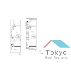 2LDK Mansion in Matsugaoka - Nakano-ku Floorplan
