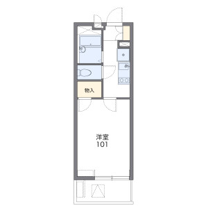 1K Mansion in Sone nishimachi - Toyonaka-shi Floorplan