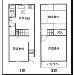 3DK {building type} in Kirenishi - Osaka-shi Hirano-ku Floorplan