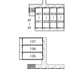 1K Apartment to Rent in Kyoto-shi Higashiyama-ku Layout Drawing