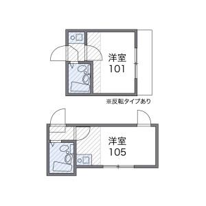 1K Apartment in Honkomagome - Bunkyo-ku Floorplan