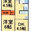 3K Apartment to Rent in Matsudo-shi Floorplan