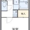 1K Apartment to Rent in Kashiwa-shi Floorplan