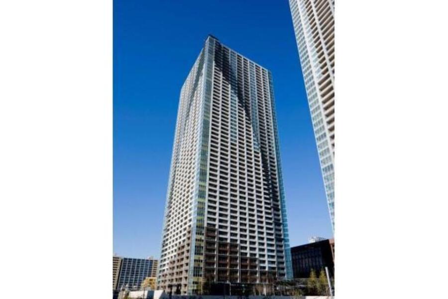 在中央区内租赁1LDK 公寓大厦 的 户外